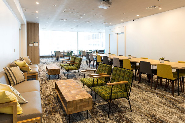 Nihonbashi Life Science Building  Lounge on 10F