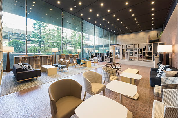 Nihonbashi Life Science Building  Lounge on 1F